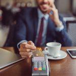 lecteur de carte bancaire sans contact et paiement sans contact