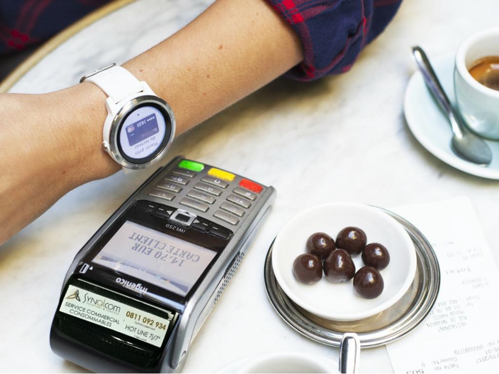 Garmin Pay Vivoactive et paiement sans contact
