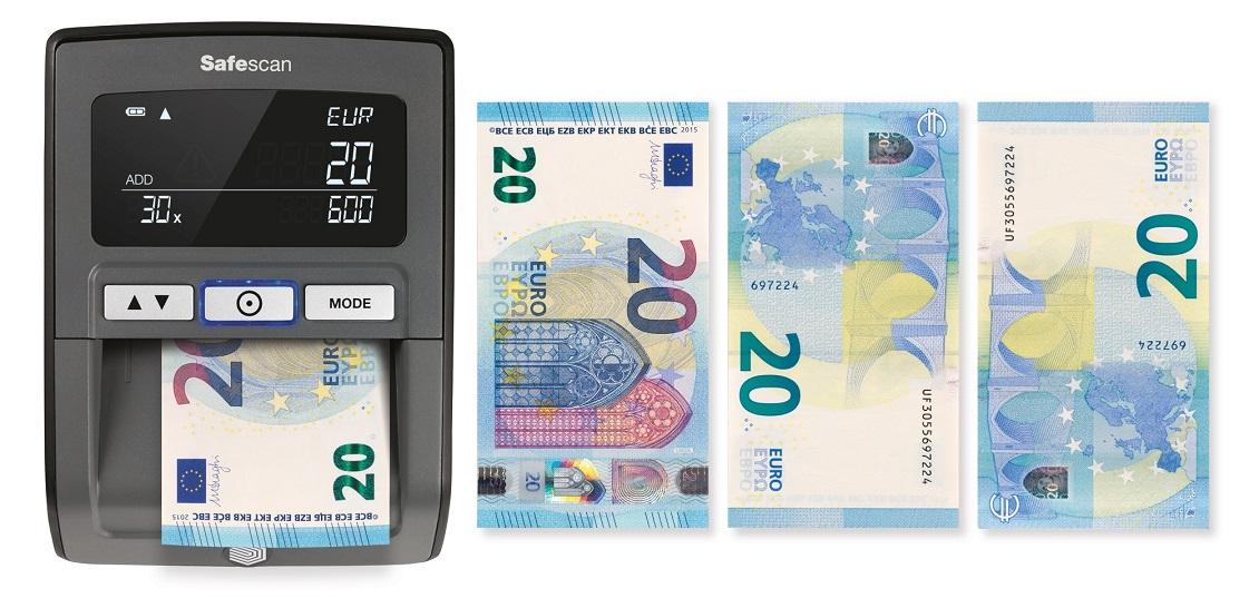 Detecteur De Faux Billets En Euros Teste 100 De Reussite