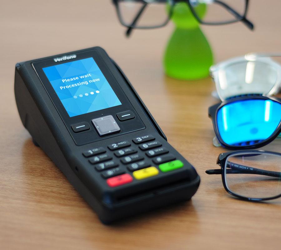 lecteur carte bancaire v200c sans contact verifone rtc ip