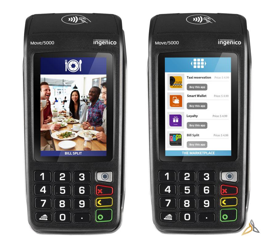 terminal de paiement ingenico move 5000 sans-contact applications