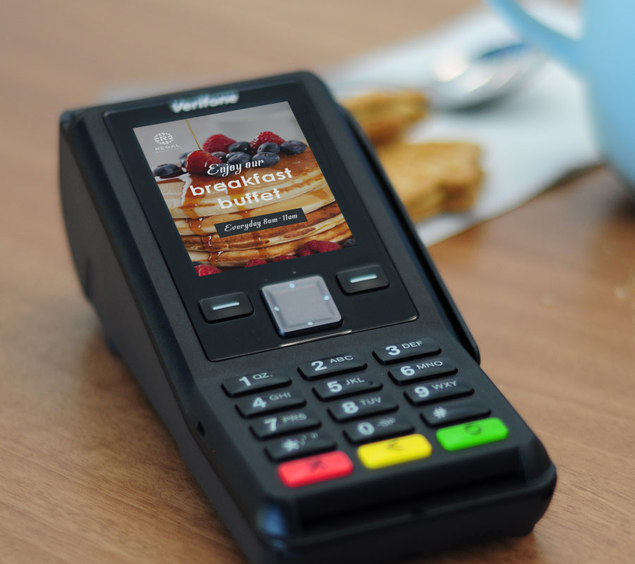 terminal de paiement sans contact internet adsl verifone v200c
