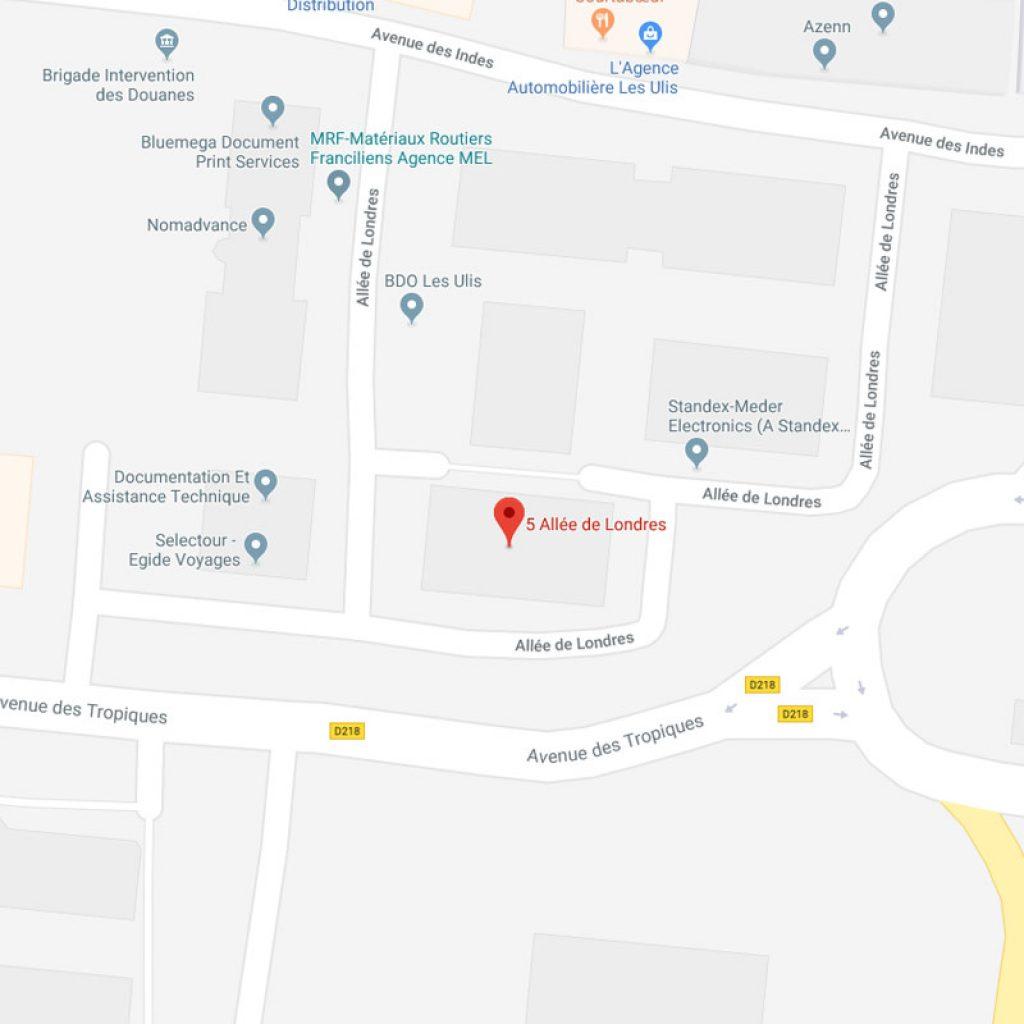 Synalcom – Carte de localisation