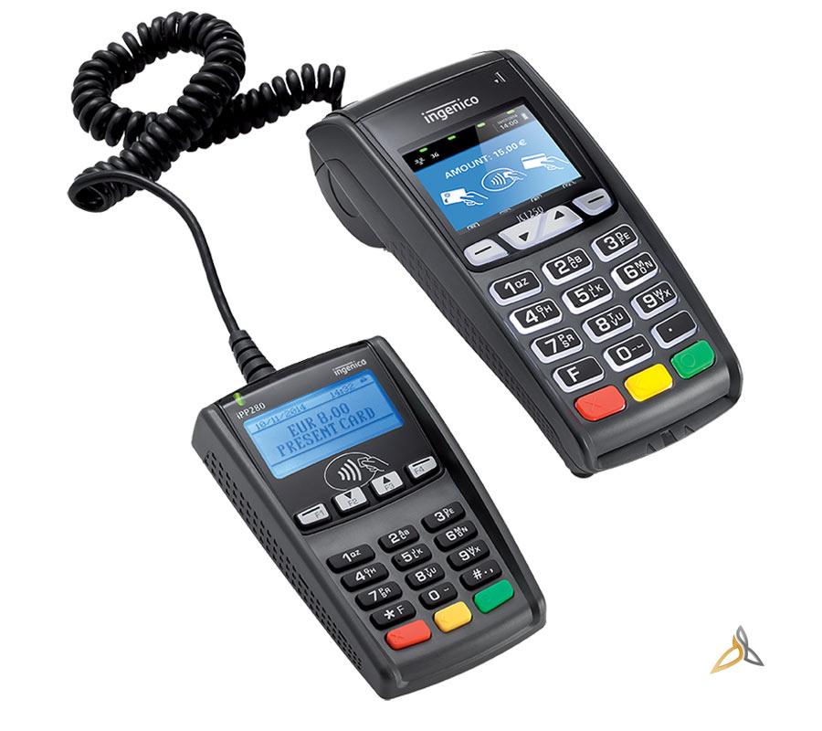terminal de paiement ict200 series avec pinpad ingenico