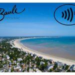 La plage connectée de La Baule accepte les paiements sans contact