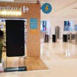 Un paiement via reconnaissance faciale dans le «Labstore» de Carrefour