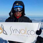 Synalcom au sommet du Mont Blanc